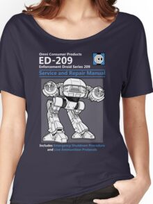 ED-209 Service and Repair Manual Women's Relaxed Fit T-Shirt