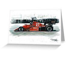 1983  Ferrari 126C3 Greeting Card