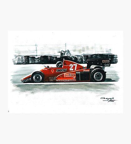 1983  Ferrari 126C3 Photographic Print