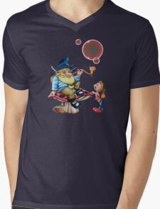 The Wise Elf Mens V-Neck T-Shirt