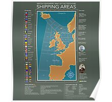 Shipping Forecast of British Poster