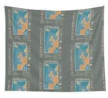 Shipping Forecast of British Wall Tapestry