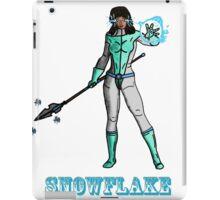 Super Hero SnowFlake iPad Case/Skin