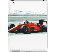 1985  Ferrari 156/85 iPad Case/Skin