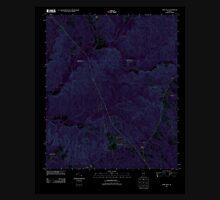 USGS TOPO Map Alabama AL Fort Dale 20110915 TM Inverted Unisex T-Shirt