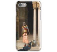 Ludwig Deutsch, THE PALACE GUARD iPhone Case/Skin
