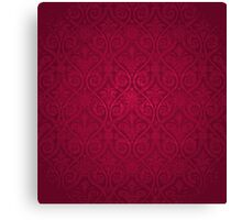Red Vintage Victorian Canvas Print