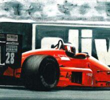 1987  Ferrari F1-87 Sticker