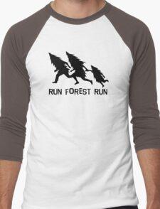 Run Forest Run Men's Baseball ¾ T-Shirt
