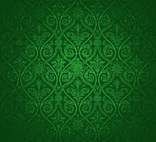 Green Vintage Victorian by graciestlou