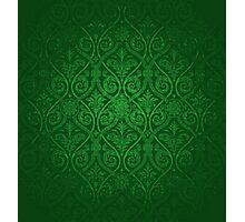 Green Vintage Victorian Photographic Print