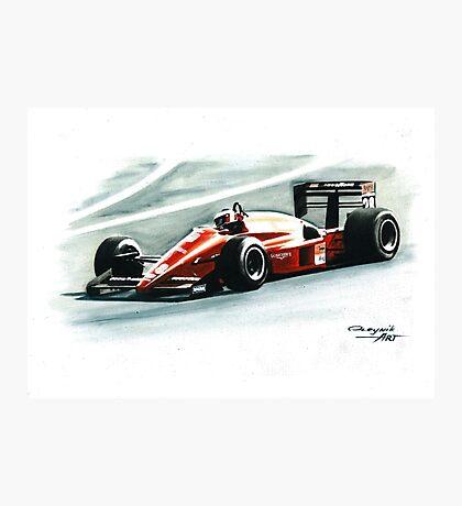 1988  Ferrari F1-87/88C Photographic Print