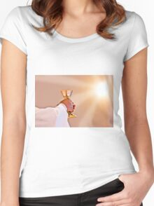 Eucharist of our Lord Jesus Christ Women's Fitted Scoop T-Shirt
