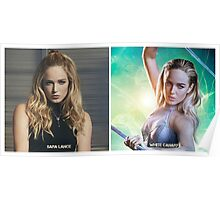 Sara Lance/White Canary Poster