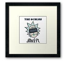 Rick And Morty - Oculus Shwift Framed Print