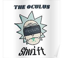 Rick And Morty - Oculus Shwift Poster