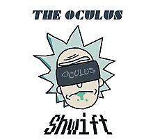 Rick And Morty - Oculus Shwift Photographic Print
