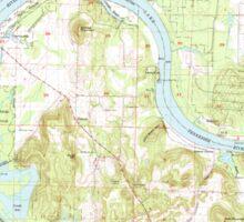 USGS TOPO Map Alabama AL Triana 305237 1964 24000 Sticker