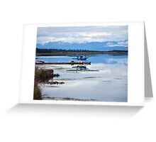 Sea Plane in Homer, Alaska Greeting Card