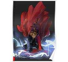Full Metal Alchemist - Edward  Poster