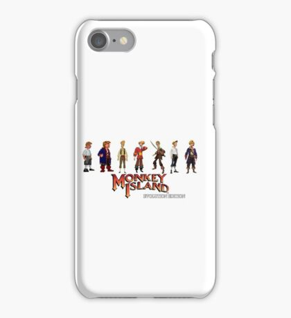 Monkey Island Guybrush - Evolution Edition iPhone Case/Skin