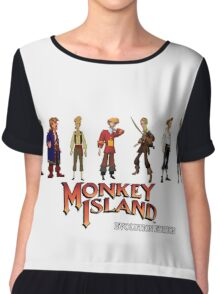 Monkey Island Guybrush - Evolution Edition Chiffon Top