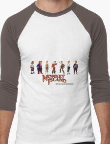 Monkey Island Guybrush - Evolution Edition Men's Baseball ¾ T-Shirt