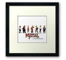 Monkey Island Guybrush - Evolution Edition Framed Print