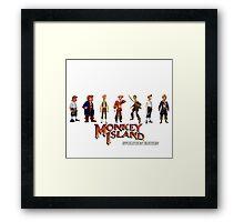 Monkey Island Guybrush - Evolution Edition Framed Print
