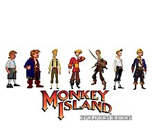 Monkey Island Guybrush - Evolution Edition Photographic Print