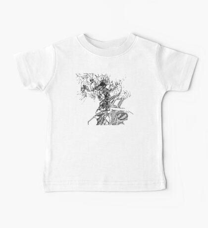 freestyle ink drawing 005 Baby Tee