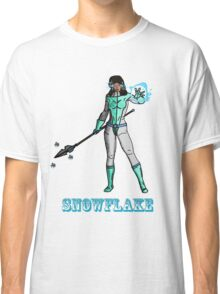 Super Hero SnowFlake Classic T-Shirt