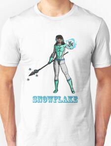Super Hero SnowFlake Unisex T-Shirt