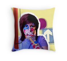 Fun shapes! Throw Pillow