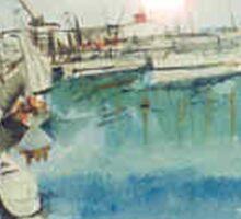 Constitution Dock Hobart Tas. Australia Sticker