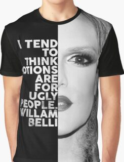 Willam Belli Text Portrait Graphic T-Shirt