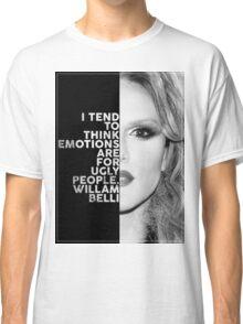 Willam Belli Text Portrait Classic T-Shirt