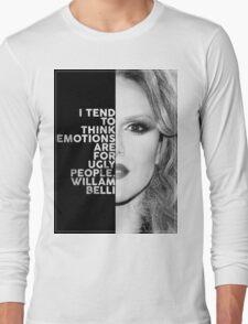 Willam Belli Text Portrait Long Sleeve T-Shirt