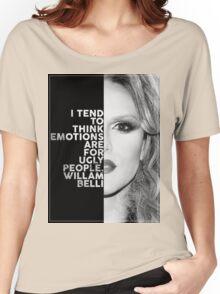 Willam Belli Text Portrait Women's Relaxed Fit T-Shirt