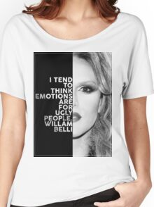 Willam Belli Text Portrait Women's Relaxed Fit T-Shirt