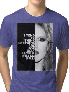 Willam Belli Text Portrait Tri-blend T-Shirt