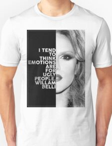 Willam Belli Text Portrait Unisex T-Shirt