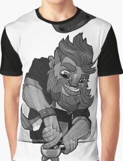 B&W Barista AF Graphic T-Shirt
