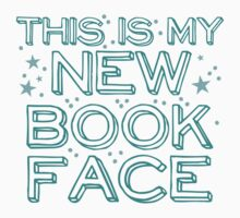 this is my NEW BOOK face One Piece - Short Sleeve