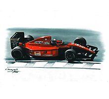 1991 Ferrari F1-91 Photographic Print
