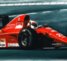 1991 Ferrari F1-91B Sticker
