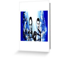Gladiators Into the Afterlife Greeting Card