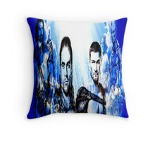 Gladiators Into the Afterlife Throw Pillow