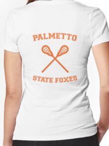 palmetto state foxes Women's Fitted V-Neck T-Shirt