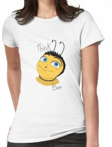 Bee movie think bee Womens Fitted T-Shirt